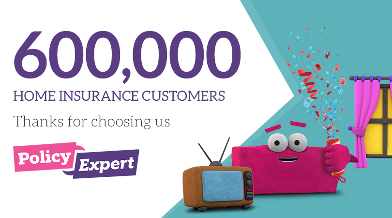 Policy Expert is one of the UK's fastest-growing Home insurance providers and we're not about to start slowing down.   We're very happy to announce that we're now insuring over 600,000 homes!  We'd like to thank all our wonderful customers, as we wouldn't be here without you. https://t.co/xjznf7f3Y7