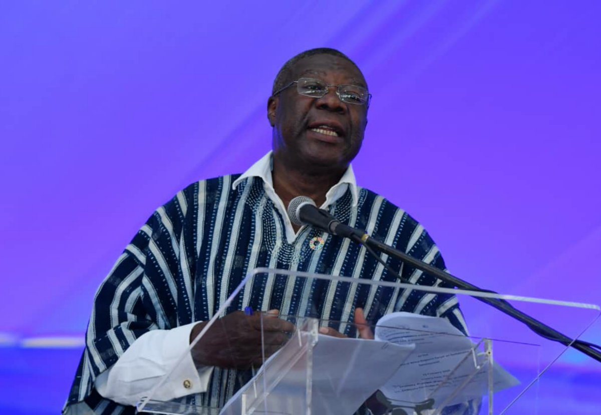 The key factor to making progress has always been and will continue to be education, education, education - Deputy Chairperson of the @_AfricanUnion Commission @AU_KwesiQuartey at #ARFSD2020. @ECA_OFFICIAL