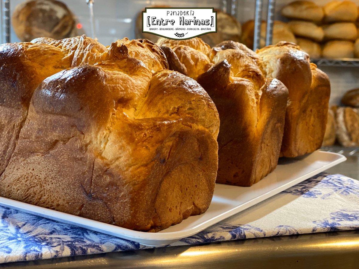 🥰Nuestro #brioche 🥰 Que olorcito tiene... y su sabor 🤤 su textura... si es que lo tiene todo? Lo has probado??  . #panaderiaentreharinas #talaveradelareina #talavera #sweet #food #foodpic
