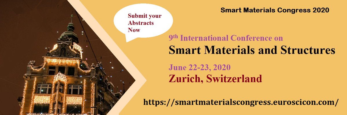This #conference is leading and staffing the assessment project which will provide a facilitator to complete the #innovative #research in the #Smart_Materials. Visit: https://smartmaterialsmeets.blogspot.com/ #Nanomaterials #MaterialScience #RegaipKandilipic.twitter.com/RYd2HyP5Q0
