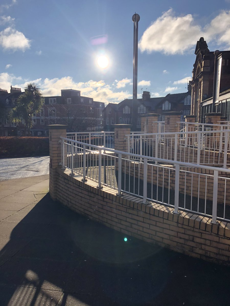 Sun spotted at the Palace!   #sun #englishriviera #devon #England #torbay #paignton