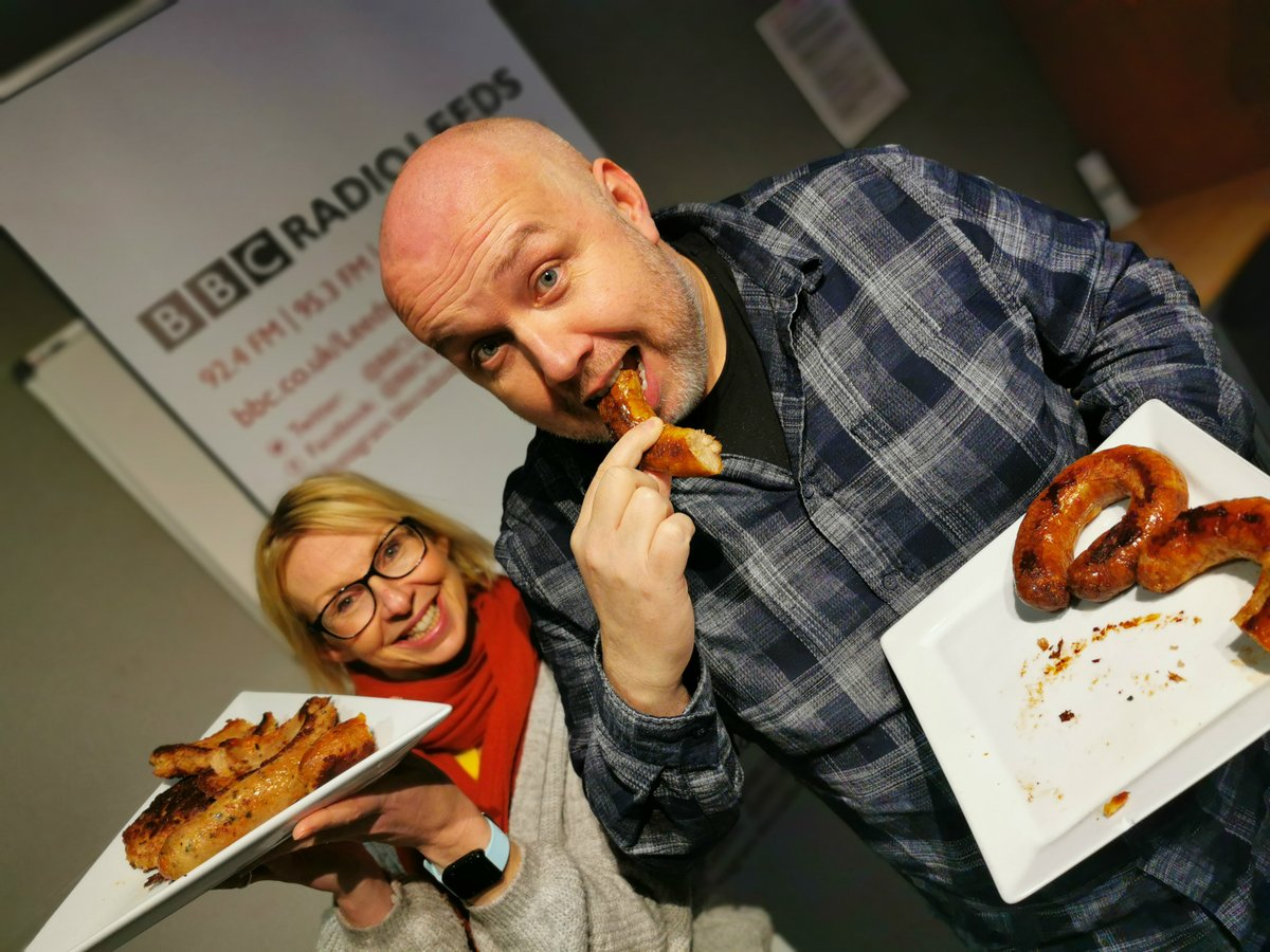 The results are in... 🌭 So who won the Breakfast Show Banger Race? 🌭 Its commiserations 😫 to @richardstead with his Porky Yorkie and congratulations 🎉🎊 to @wakeywakefield with her Cheesy Weasel!