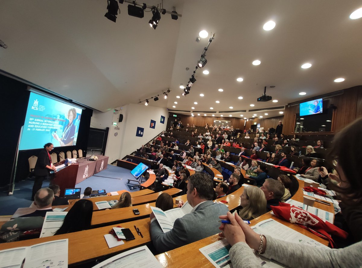 @RCSI_Irl Nursing & Midwifery Conference key note speech delivered by the @WHO global Chief Nurse  in this the WHO year of the Nurse and Midwife in celebration of the 200th birthday of Florence Nightingale @HSELive  @roinnslaintepic.twitter.com/nljgmrW9d7