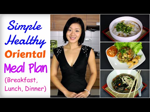 Healthy Asian Meal Plan to Lose Weight (Breakfast, Lunch, Dinner)   #LowCalorieRecipes #Vegetarian