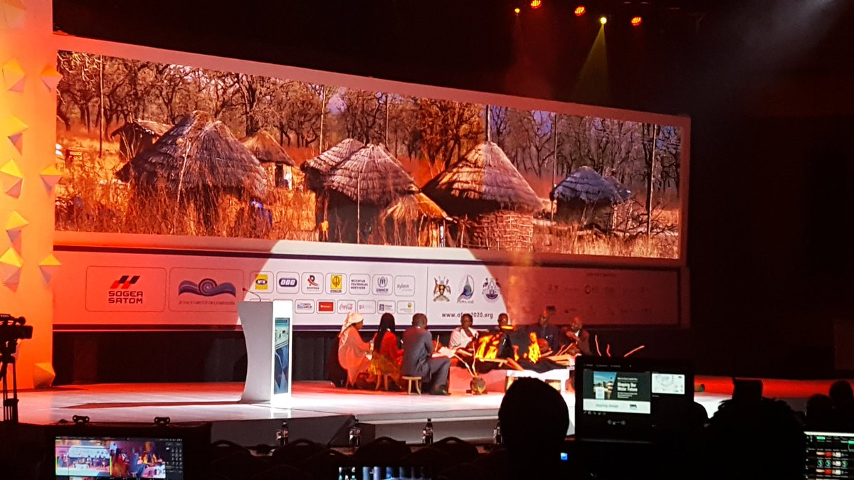 #Afwa 2020 closing session at Serena. Over 1000 delegates this was an amazing experience. To het to share about water and sanitation. #wash #NWSC