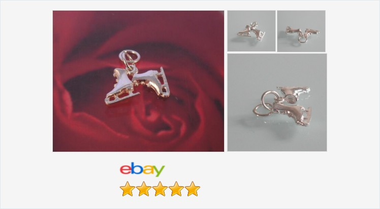 New 925 Sterling Silver ice-skates Charm Pendant - Boxed   eBay #sterlingsilver #iceskates #charm #traditional #jewellery #finejewelry #gifts #giftideas #iceskating #sports #jewelry #giftsforher #cute #accessories #fashion #jewelrylover #jewelryaddict
