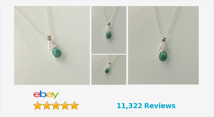 New 925 Sterling Silver and Russian Amazonite Small Scroll Pendant Necklace   eBay #sterlingsilver #russian #amazonite #necklace #pendant #handmade #jewellery #gifts #giftideas #giftsforher #gemstones #gemstonejewelry #jewelry #jewelrylover #accessories