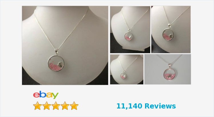 """New 925 Sterling Silver & Pink Cubic Zirconia Love Necklace on an 18"""" chain   eBay #sterlingsilver #pink #cubiczirconia #love #heart #necklace #jewellery #gifts #giftsforher #accessories #prettything #jewelry #jewelrylover #jewelryaddict #giftshop"""