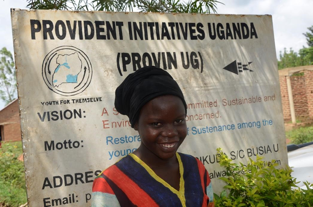 """""""Joining Provident Initiatives Uganda Youth Club enabled me to change my life and behaviour."""" - Oweki Rukia, 17, from Busia District, #Uganda.  Read Oweki's story here http://bit.ly/DSW2702_OR   @action4hU #RightByHer #SRH #SRHRpic.twitter.com/SdMFs7Njxs"""