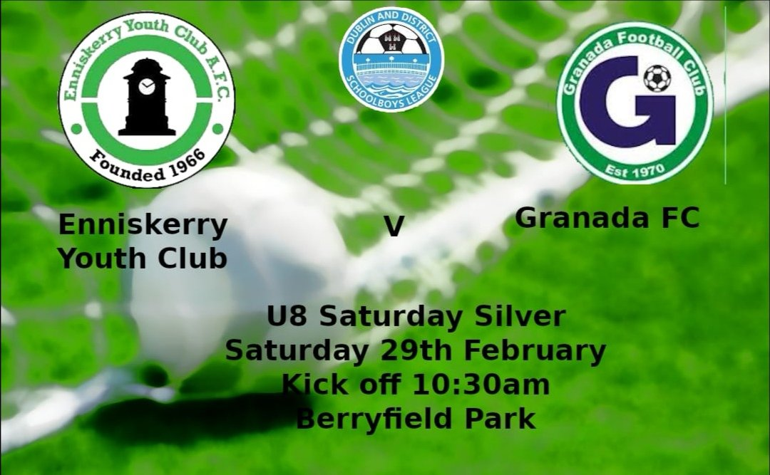 This weekends underage fixtures..  Come on the Youth Club pic.twitter.com/TZ16BwLU8V
