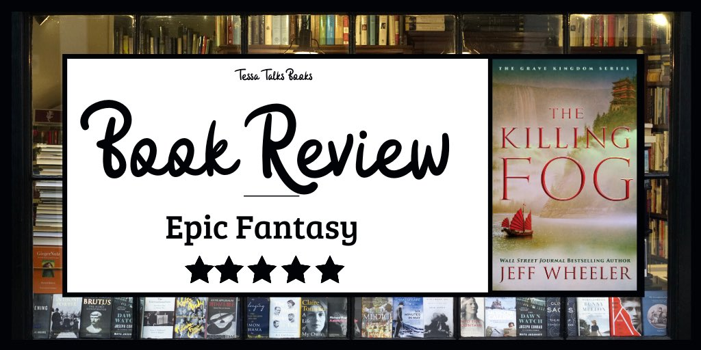 #BookReview | The Killing Fog by Jeff Wheeler . I can't say enough great things about it! Highly recommend! #thekillingfog #jeffwheeler #bookblog #fantasy  Link to review: https://tessatalksbooks.blog/2020/02/27/book-review-the-killing-fog-by-jeff-wheeler/ …pic.twitter.com/L8K0KZqsPA