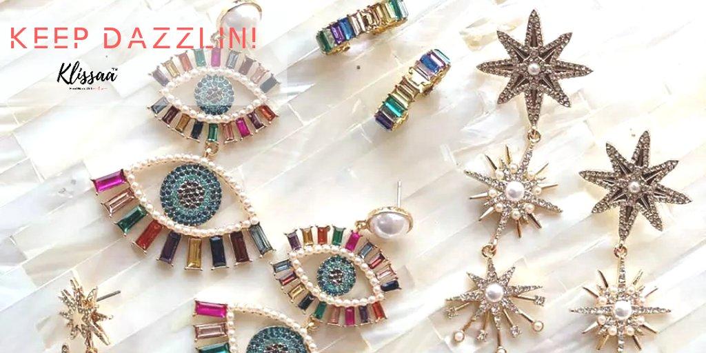 Keep Dazzlin! . . . #klissaajewelry #klissaa #jewelrylover #popxofashion #accessories #accessorize #jewelry #jewelryindia #earringsoftheday #fashionjewelry
