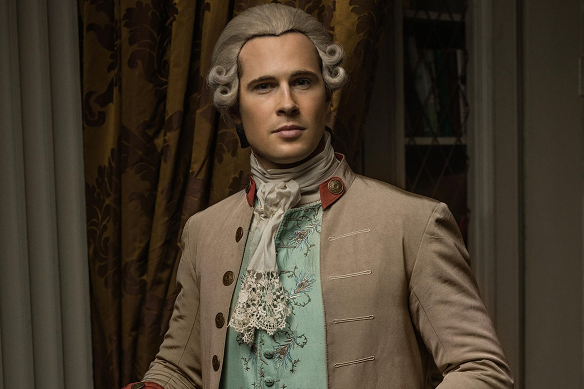Make sure you catch the superb #DavidBerry in the new series of @Outlander_STARZ Streaming now on @PrimeVideo and @STARZ #Regal #HH #OutlanderS5
