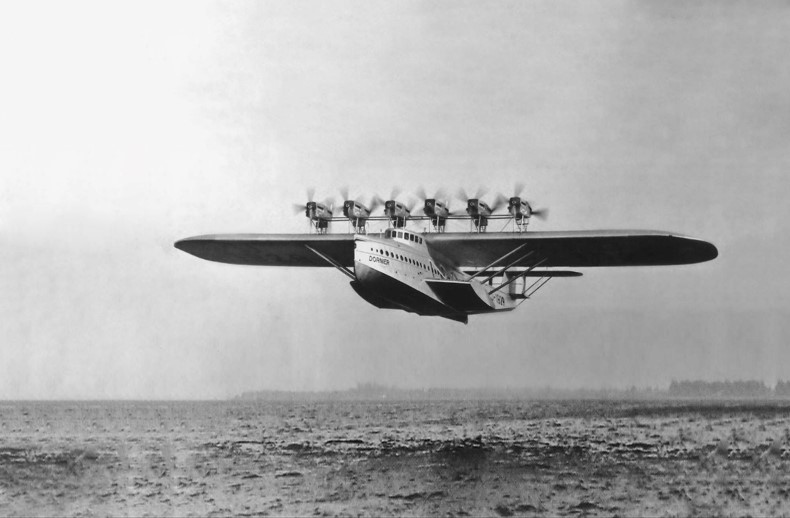 [Dornier Aircraft Story Series - Chapter 4]  The Dornier X was the largest, heaviest, most powerful flying boat of its time. Learn more:   #aviation #aircraft #flyingboat #DoX #dornier #DornierSeastar