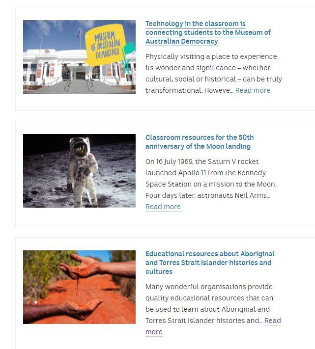 Explore educational articles designed to promote learning for primary and secondary students! Bookmark one of these excellent articles detailing free resources that are available on a range of topics:  https:// ab.co/2I0UhGA     #aussieED<br>http://pic.twitter.com/fpm3B4VNmo