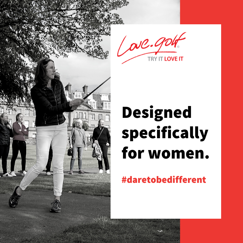 http://love.golf is designed specifically for women.  If you dare to be different, why not join a session at your nearest golf club and discover a new hobby? #lovegolf #daretobedifferent #womensgolfpic.twitter.com/ZI4DYr6qFx