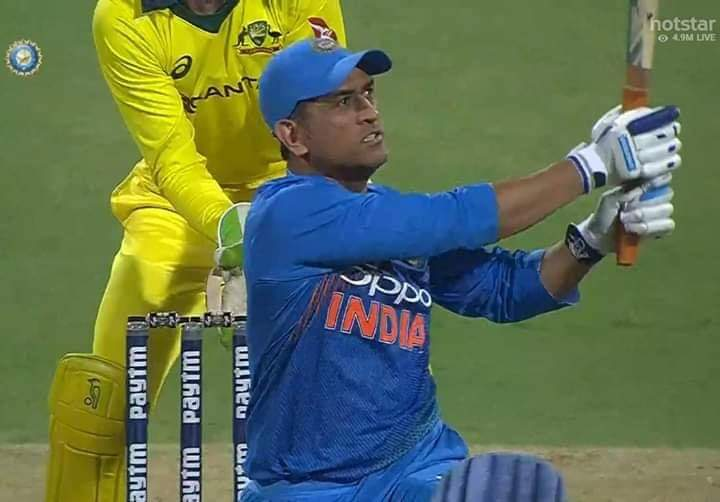 On this Day in 2019..  MS DHONI Became the First Indian  To Hit 350 Sixes In International Cricket ! <br>http://pic.twitter.com/0t1i1JHSXB