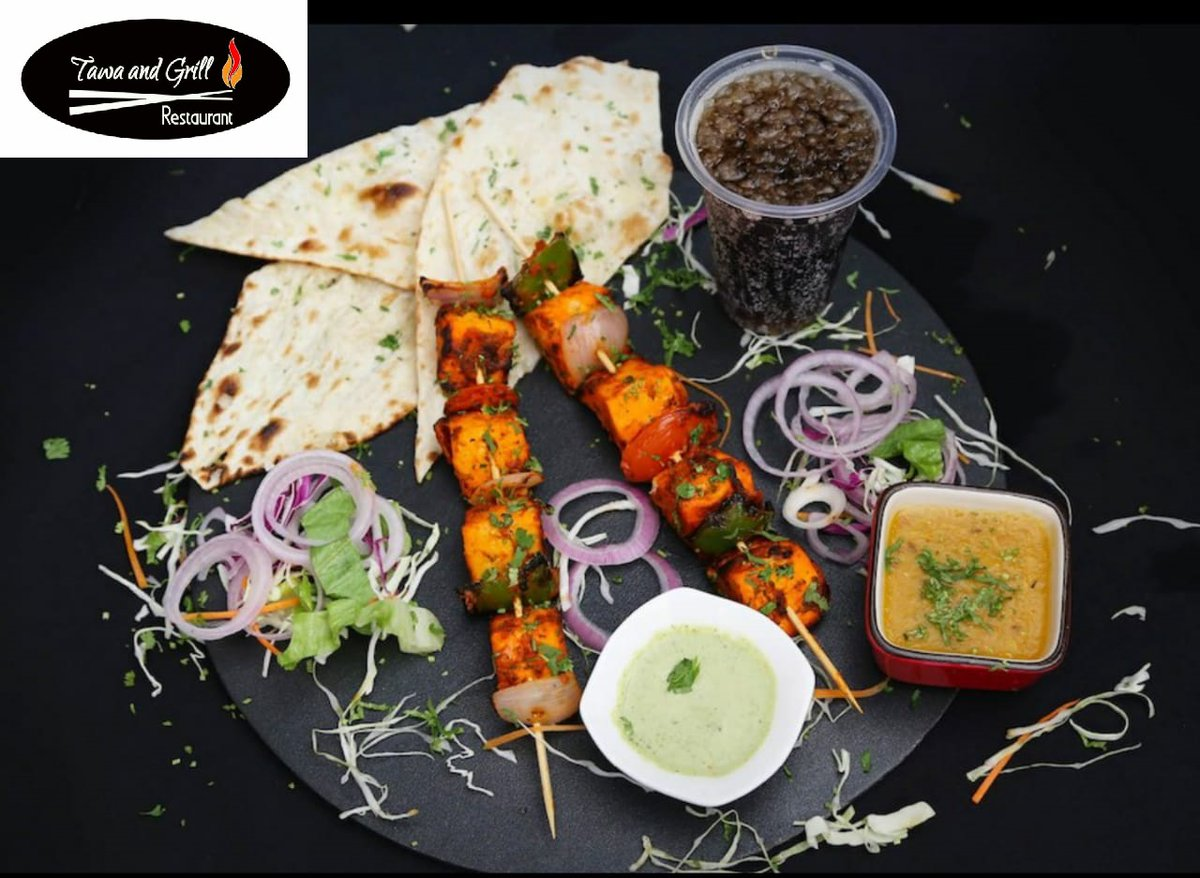 #PANEER TIKKA COMBO  #TAWA AND GRILL RESTAURANT #BREAKFAST #LUNCH #DINNER #HOME DELIVERY #OUTDOOR CATERING #SNACKS BOXES #BULK ORDER #CHAAT #SNACKS #SOUP #INDIAN FOOD #CHINESE FOOD #MUGHLAI FOOD #SEAFOOD #FRESH JUICES #MILK SHAKES #SWEET DINE IN/ HOME DELIVERY/ TAKE AWAY