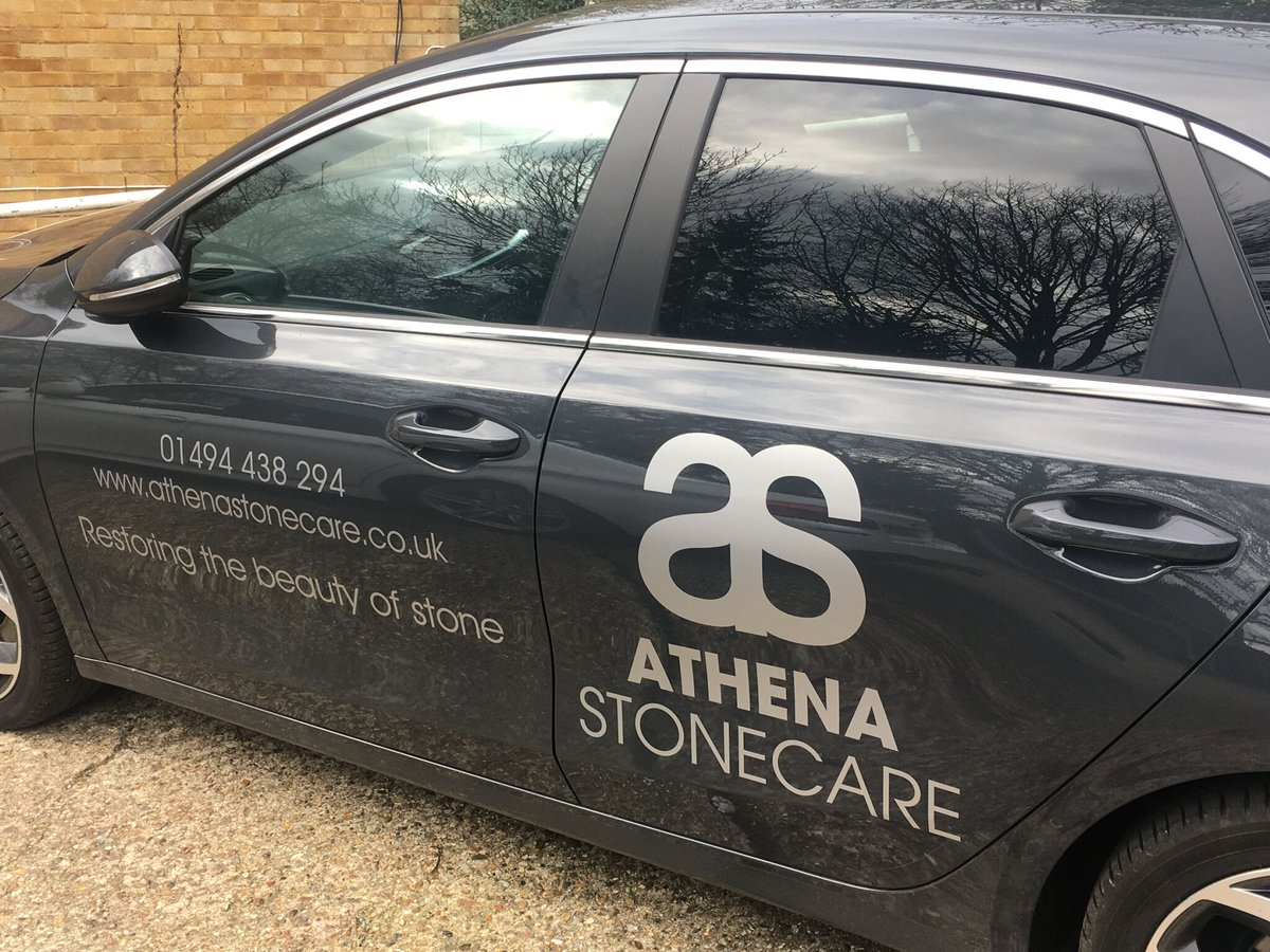 We are excited to reveal the latest vehicle in our fleet! Huge thanks to Signs Express of Aylesbury for getting our Kia on brand. #newcar #vehicle #fleet #carenthusiast #kia #petrolhead #brand #marketing #graphics #natural #stone #restoration #buckinghamshire