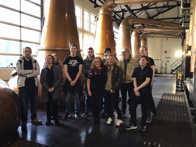 Great to see participants from the #Highlands joining the  @Springboard_UK  and @Diageo_News Learning for Life course.   A visit to Glen Ord Distillery hosted by Hazel from Diageo was inspiring for Margo from #Inverness Jobcentre and Isabel from Springboard too!   #JobsWithASmilepic.twitter.com/DmrIFi1qlh