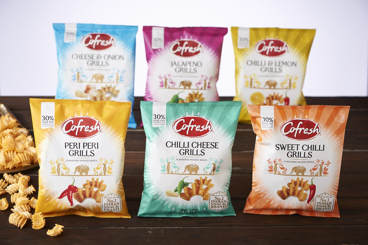 Our decidedly delicious potato-based Grills now contain 30%less fat so resistance is futile! Available in six mouthwatering flavours for a tasty treat any day of the week!    #vegetarian #vegan #Indianfood #indiansnacks