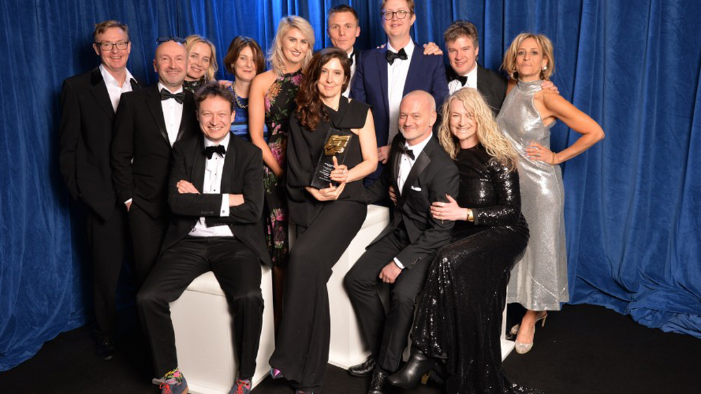 Congratulations to the @BBCNewsnight team!   Daily News Programme of the Year  Interview of the Year and...  ....Scoop of the Year (for Prince Andrew)  Network Presenter of the Year for @maitlis   at last night's #RTSAwards<br>http://pic.twitter.com/8cVOPEspmF