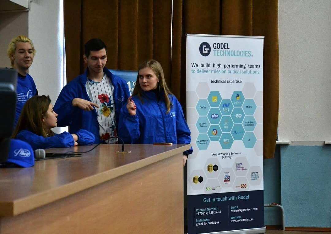 On February 15th, Godel sponsored the BSUIR Olympiad in Informatics and Information Technology for students in grades 10-11. The students met with our HR manager Katsiaryna Shytsyik, who spoke to the participants about Godel and employment opportunities for university graduates. pic.twitter.com/FtUlIcBE6K