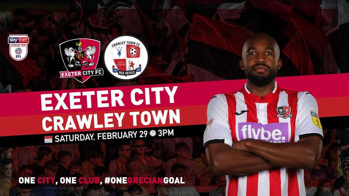 Junior Grecians Members can get Free Match Tickets when accompanied by a paying adult! @OfficialECFC games against Crawley (SEATS SOLD OUT!), Salford, Scunthorpe & Bradford are now on sale: bit.ly/JGTICKETOFFER - Not a member yet? Sign up here: bit.ly/JOIN-JG #ecfc