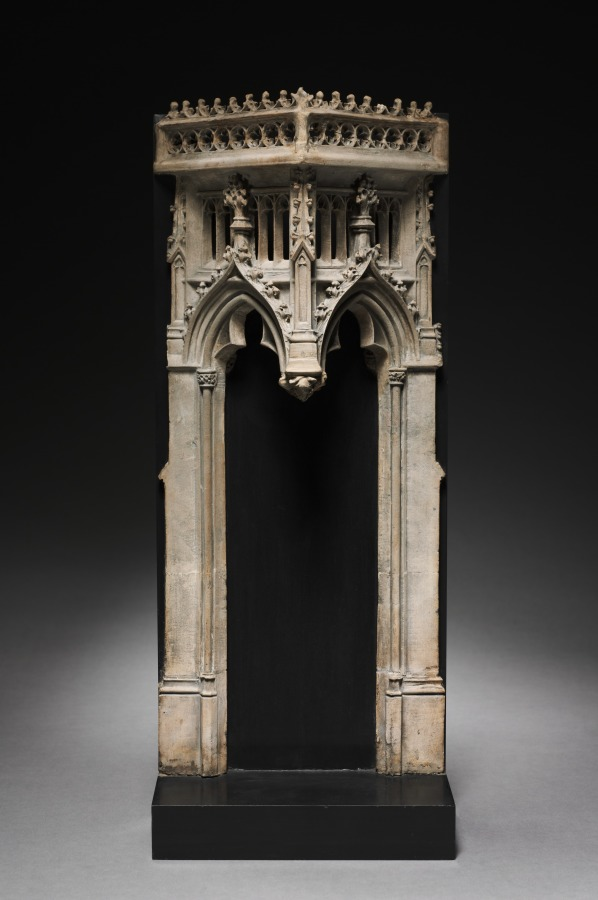 Architectural Canopy (pair), c. 1450-1475  #MedievalArt #clevelandartmuseum