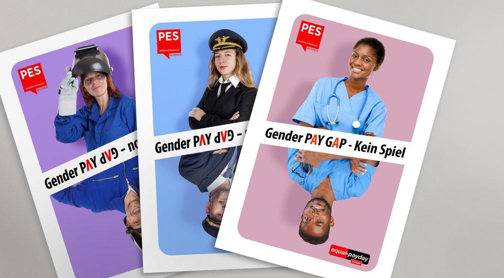 Game over für die #genderpaygap! Frauen verdienen in der #EU im Schnitt 16% weniger als Männer. In Deutschland ist das Lohngefälle noch größer als in anderen Ländern. Wir brauchen endlich verbindliche Maßnahmen für Geschlechtergerechtigkeit #EqualPayDay #NotAGame @PES_Womenpic.twitter.com/4r3YAkCXaq