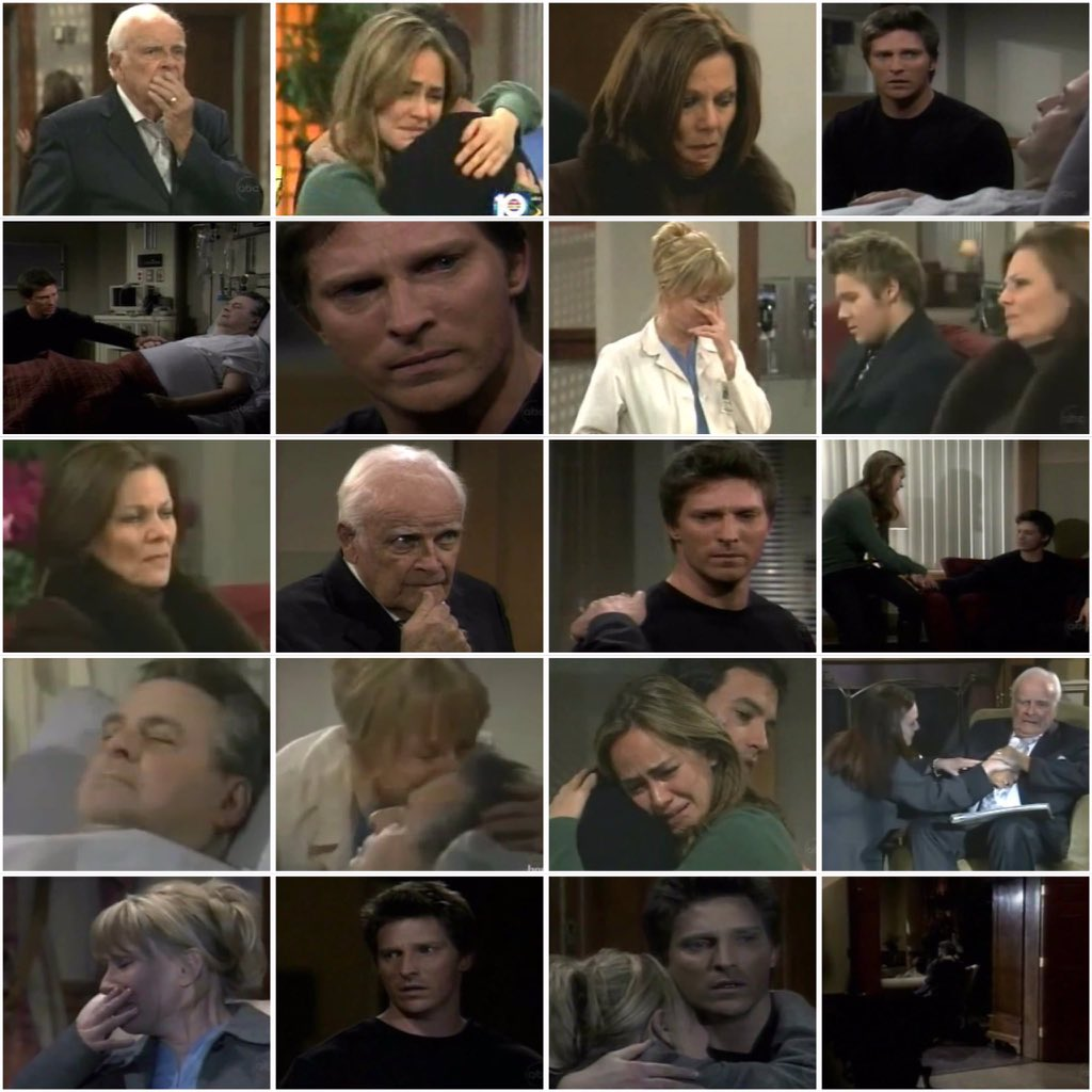 #OnThisDay in 2007, the Quartermaines struggled to deal with Alan's death #GH #GeneralHospitalpic.twitter.com/3G6IxqqLNC