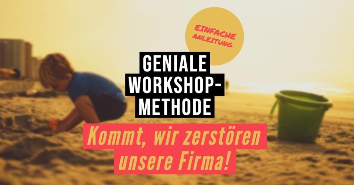 Radikal: Zerstören Sie Ihr Unternehmen oder Ihren Arbeitgeber! Geniale #Workshop Methode für #Querdenker von Kai Schmidhuber.  http://ow.ly/5RDG50ywfad via @XING_de   Die schöpferische Kraft der Zerstörung - Rezo und Schumpeter lassen grüßen. ;-) #Innovation #Change #Disruptivpic.twitter.com/uQF8s4fZQ7