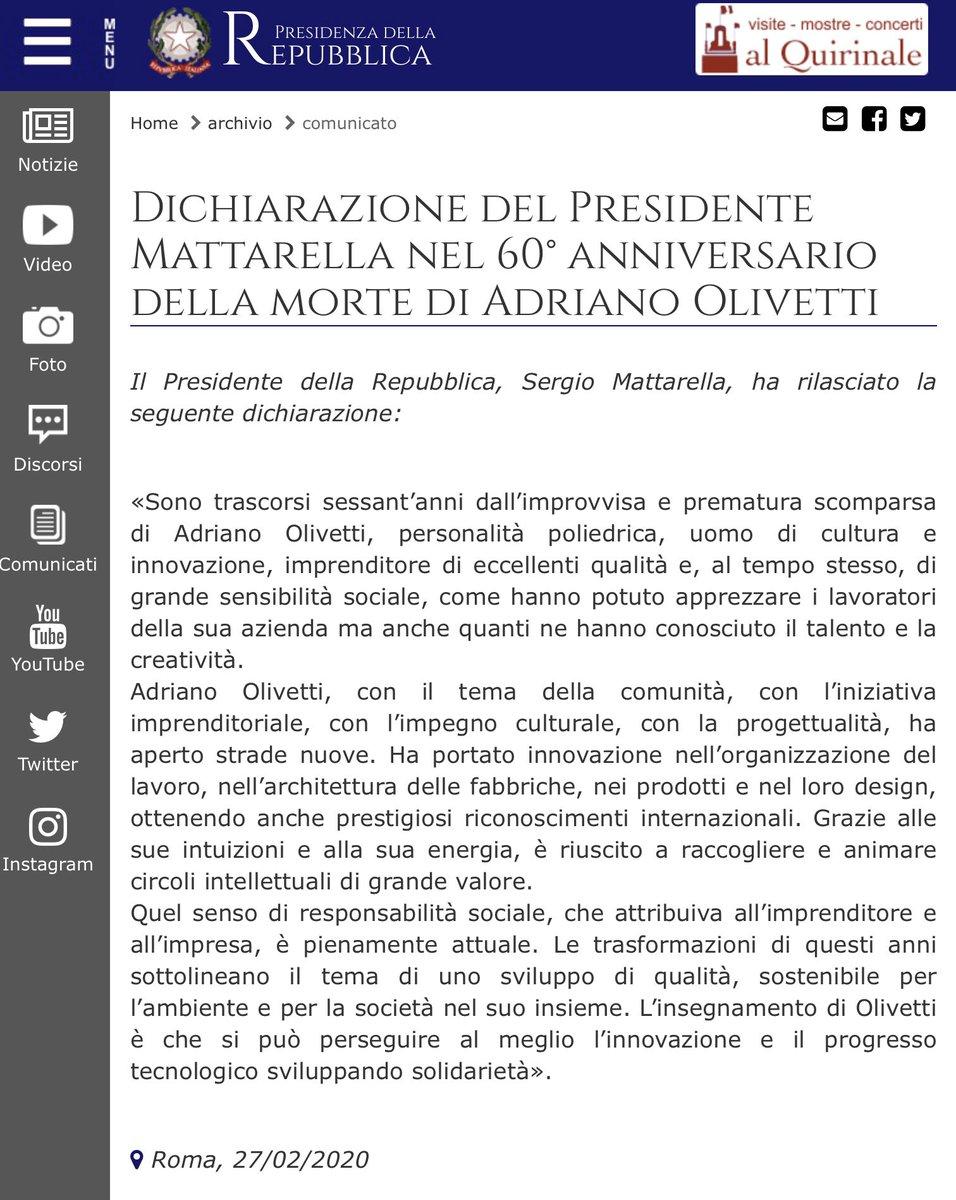 #Olivetti