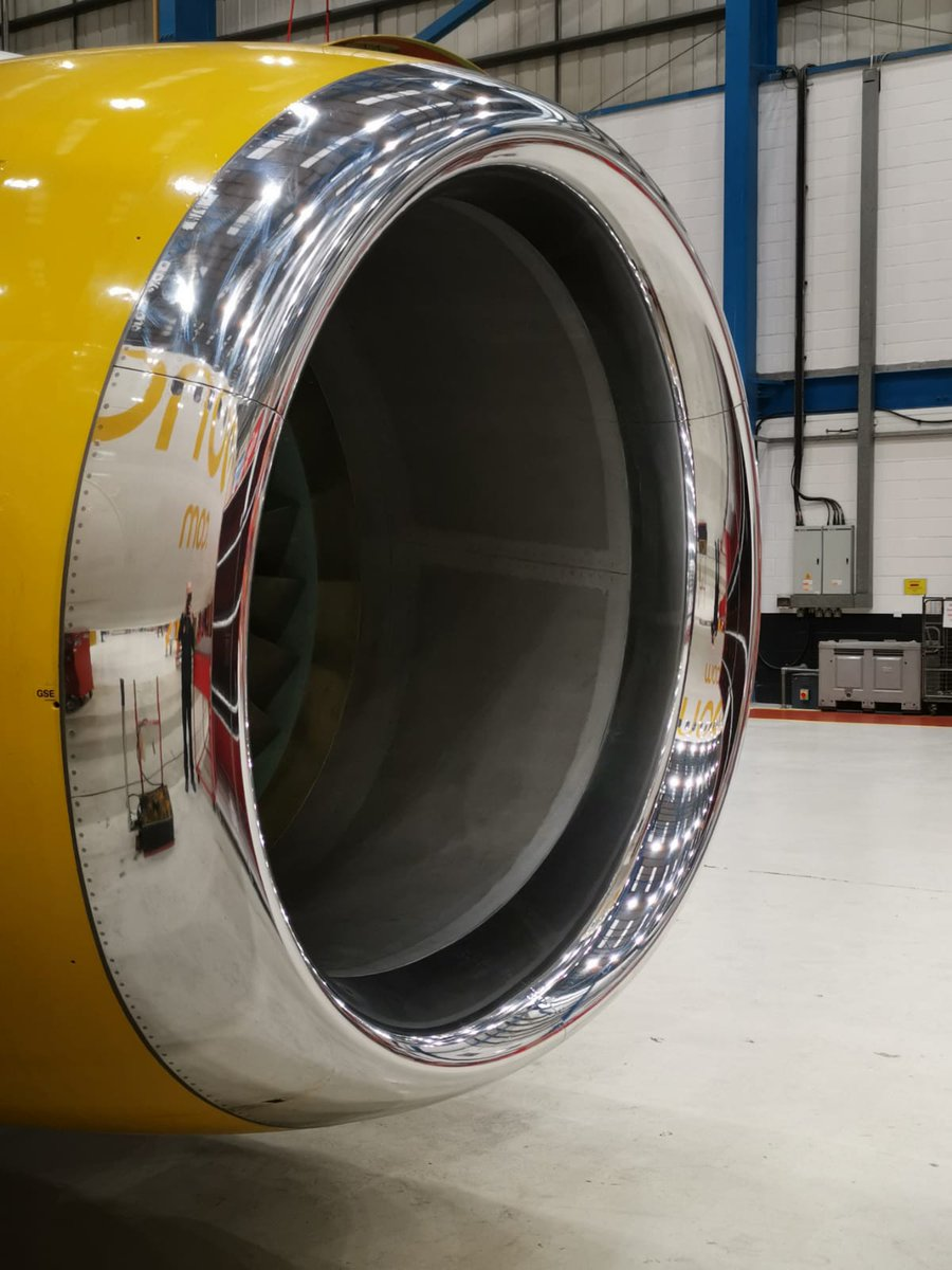 The quality of our #brightwork speaks for itself. #polishing #cleaning #aviationdetailing #aircraft @JetWashAviation