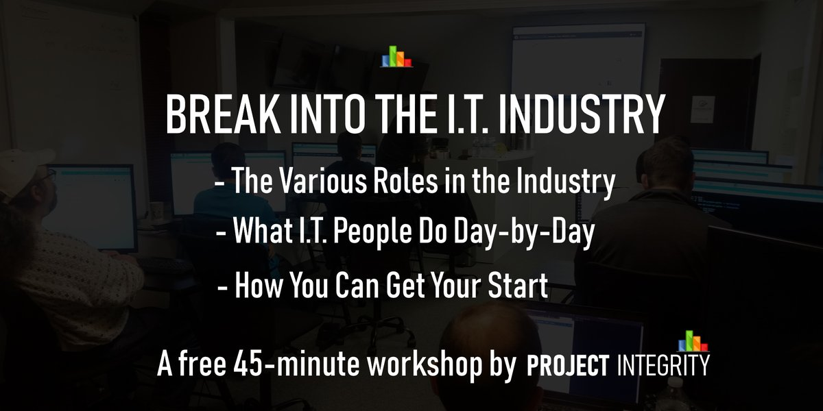 Thinking about breaking into the IT industry? Learn about roles in information technology industry & how you could fit in and get a start.  See Dates Below: http://mvnt.us/m1099131 #Training #IT #Workshop #Free #Michigan #Troy #Detroitpic.twitter.com/hhLRRpGXRH