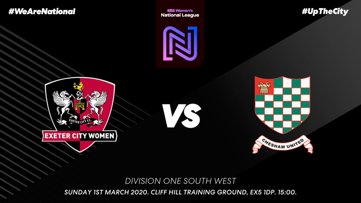 📅 NEXT UP: We are in @FAWNL action this weekend as we welcome @cheshamutdlfc down to Devon in what is a repeat of last weekend!🔴⚪️ #UpTheCity