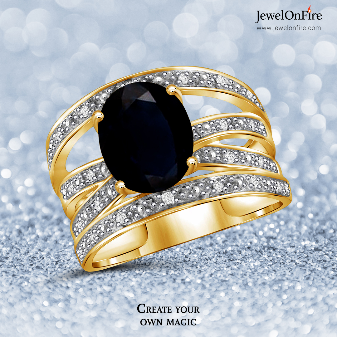 Black is the new black.  #ring #blackdiamondring #blackstone #blackstonering #diamondring #diamondheartring #engagementring #gemstone #designerring #jewels #jewelry #women #birthstone #gift #jewelrylover #girlsbestfriend #jewelryshop #jewelrylove #jewelrystore #JOF #JewelOnFire