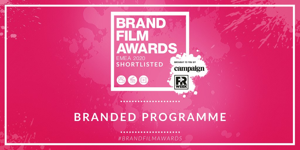 Shortlisted for Branded Programme:  @dewars Drum for @Timberland  Google Brand Brand Studio for @Google @wearejustso for @Diageo_News 'Alcohol in Society'  @leica_camera #BrandFilmAwards @prweekuknews @Campaignmag https://buff.ly/397Olrapic.twitter.com/NbN0Bjdfj4