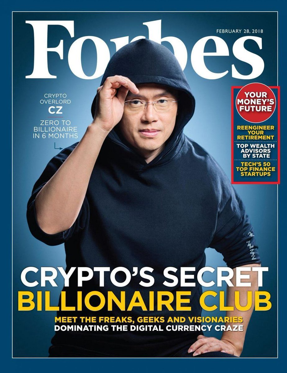 Changpeng Zhao Turned out to Be the Richest Person in the #Crypto Industry    #TheCapital #cryptocurrency #bitcoin #btc #finance #fintech #DeFi #money #banking #trading #portfolio #investment