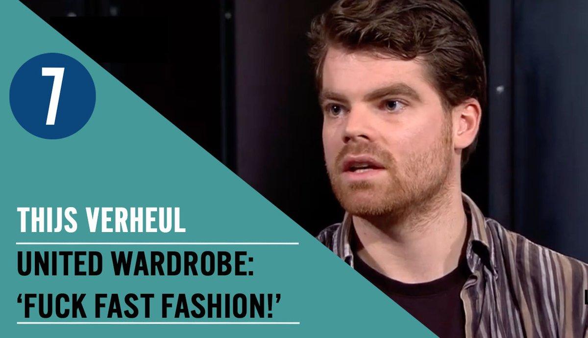 [NIEUW] 'Fuck fast fashion' is het motto van Thijs Verheul, mede-oprichter van online marktplaats voor tweedehands kleding United Wardrobe. In een nieuwe aflevering gaan we met hem in gesprek over de ontwikkelingen in de kledingmarkt: https://youtu.be/Ar3X9RKT-JIpic.twitter.com/2mpyxzLm1e
