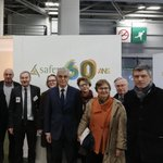 Image for the Tweet beginning: En visite au #SIA2020 avec