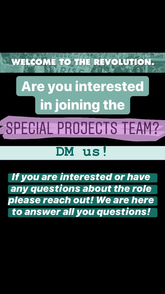 Join our Special Projects Team! ⬇️🤪