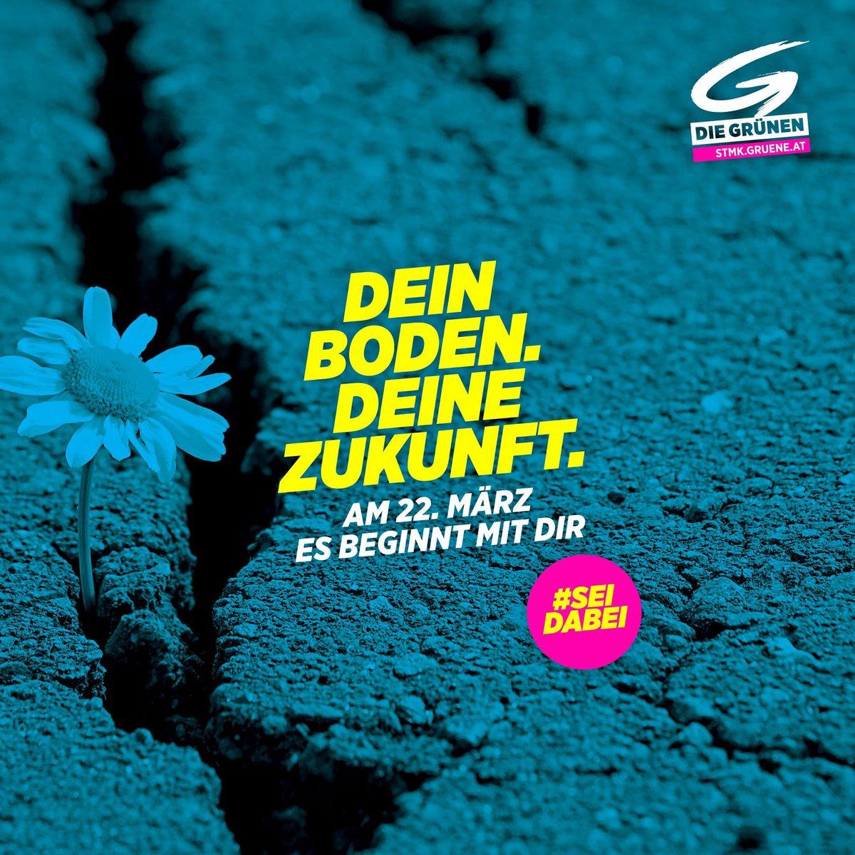 Am 22. März liegt es in deiner Hand : Machen wir gemeinsam Klima- und Umweltschutz in deiner Gemeinde stark.  Denn es ist deine Gemeinde, es ist deine Zukunft. #esbeginntmitdir #Steiermark #grw2020pic.twitter.com/kFTfB9NRpC