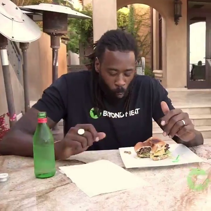 """""""Eating plant-based foods has helped me become the best version of myself on and off the court.""""  - Beyond Ambassador, @deandre  Learn more about our official plant-based meat partner, @BeyondMeat ➡️ http://BeyondMeat.com  #GoBeyond"""