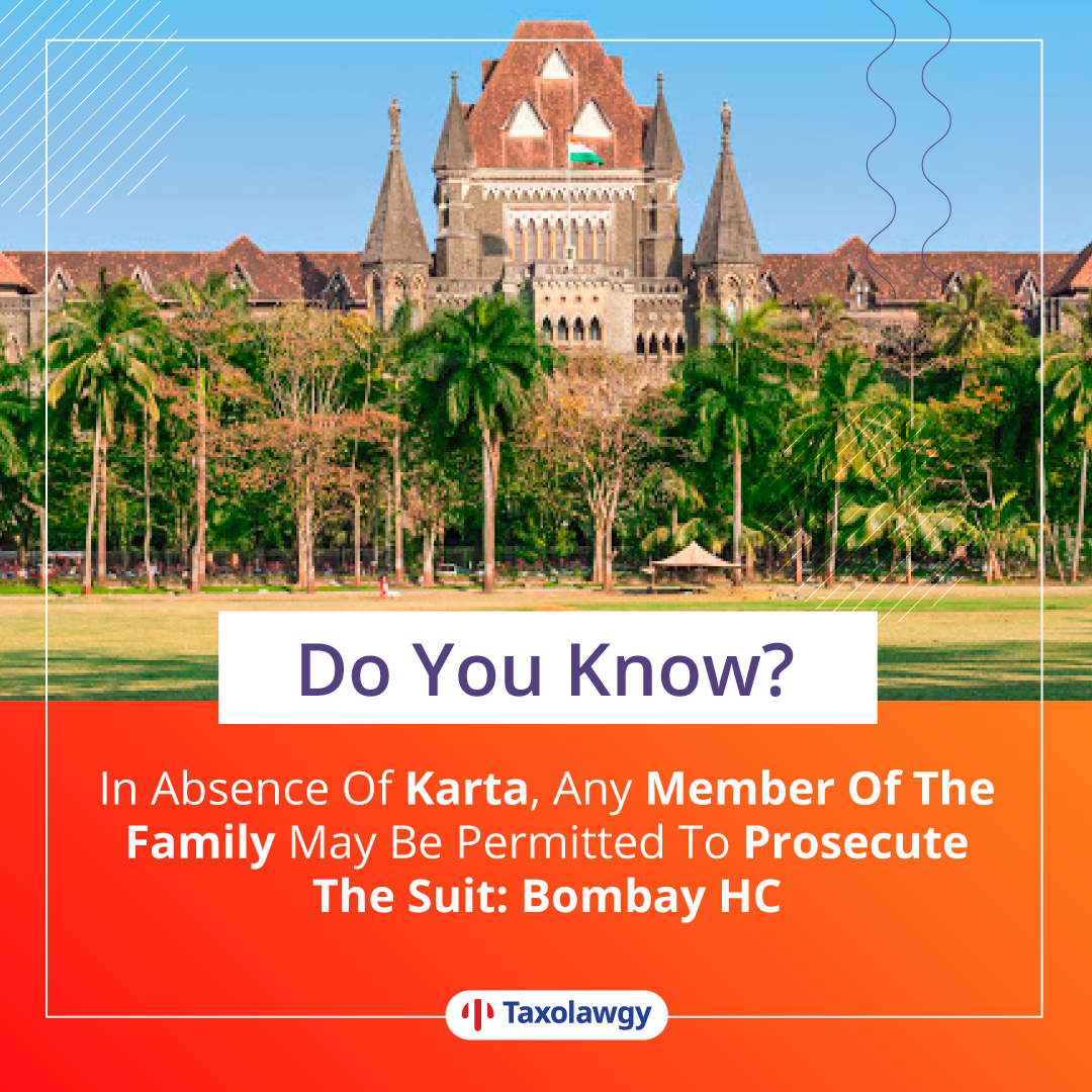 #Fact   #Doyouknow #knowyourrights #law #Indianlaw #Family #Suit #Bombay #HighCourt #taxolawgy #justiceforallpic.twitter.com/BypCz5doFV