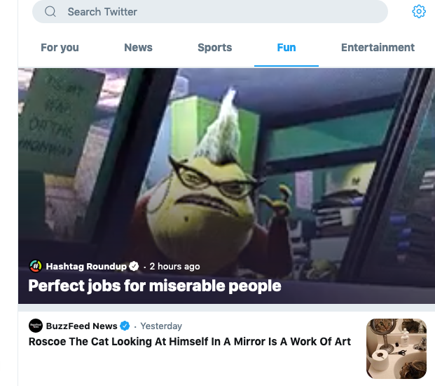 @AcidicCherryTgz Congrats! Your tweet for #JobsForMiserablePeople is in @CanadaMoments @TwitterMoments on the Fun tab! @euflorium @joshkeaton @mentalgirlbooks @SourPatchKids @4tdsbundy @P_Jutz @mgreer423 @chasingdinner @TKthekonseptTK @otherjenny @_Katiebyy69