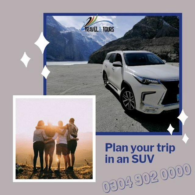Plan your trip in an SUV #LandCruiser #Prado #Fortuner #Murree #Galliyat #Swat #Kalam #MalamJabba #Gilgit #Hunza #Skardu Call 0304 902 0000 for booking #AsIClick #TravelandTours