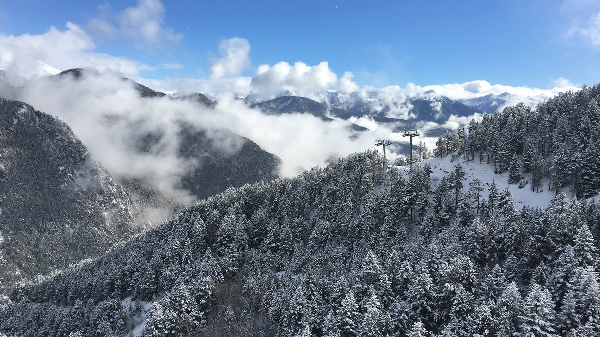 Who else would love to be out whizzing past those trees? #ad _ 📍 Arinsal, Andorra https://t.co/16sdoaFwjO