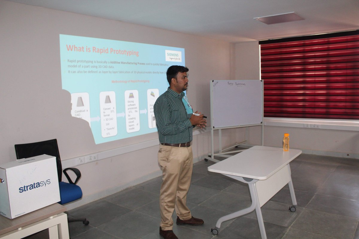 Students from various colleges participated in a one day workshop on 3D Printing organized in association with Synergy 2020 at the Siemens Centre of Excellence in Manufacturing, NIT, Trichy during February 2020. pic.twitter.com/gC7cwo3HBJ
