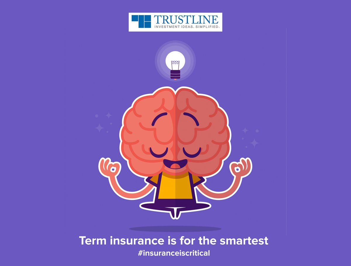 Did you know? As compared to other health insurance plans, term insurance has the lowest premiums. #insuranceiscritical https://www.trustline.in/insurance